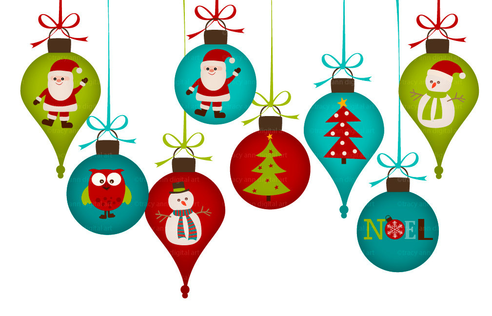 Png Christmas Decorations.Items Similar To Christmas Decorations Clip Art Png For
